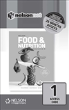 Nelson Food & Nutrition for QCE (1 Access Code Card)