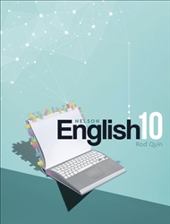 Nelson English 10 Student Book with 1 Access Code for 26 Months - 9780170419239