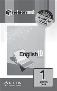 Nelson English 10 (1 Access Code Card) - 9780170419291