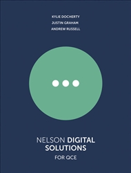 Nelson Digital Solutions for QCE Units 1–4 Student Book with 1 Access Code for 26 Months - 9780170420655