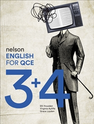 Nelson English for QCE Units 3 & 4 Student Book with 1 Access Code for 26 Months - 9780170421706