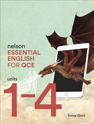 Nelson Essential English for QCE Units 1–4 with 1 Access Code for 26 Months - 9780170421782