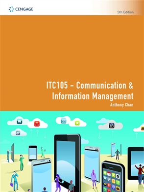 ITC105 Communication & Information Management - 9780170421911