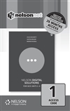Nelson Digital Solutions for QCE Units 1 - 4 (1-code Access Card)