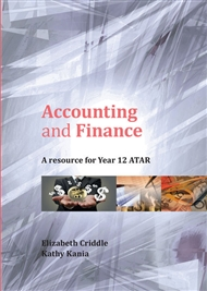 Accounting and Finance: A Resource for Year 12 ATAR - 9780170424028