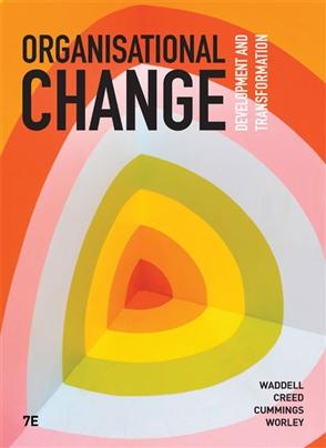 Organisational Change - 9780170424448