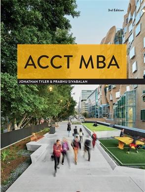 ACCT MBA - 9780170424479