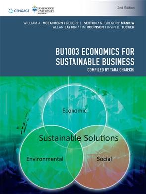 BU1003 Economics for Sustainable Business - 9780170424493