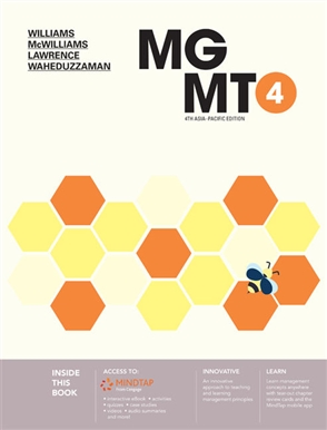 MGMT4 with MindTap - 9780170427371