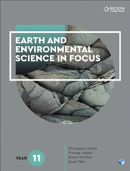 Earth and Environmental Science in Focus Year 11 Student Book with 1 Access Code for 26 Months - 9780170438827