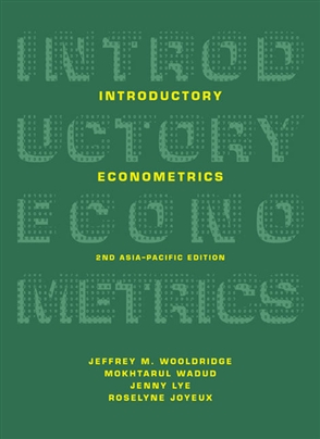 Introductory Econometrics: Asia-Pacific Edition - 9780170439534