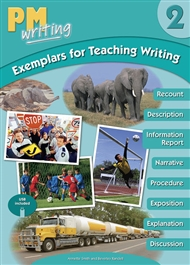 PM Writing 2 Exemplar Teaching Writing with USB - 9780170439794