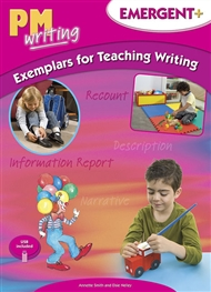 PM Writing Emergent + Exemplars For Teaching Writing - 9780170439800