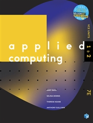 Applied Computing VCE Units 1 & 2 Student Book with 1 Access Code for 26 months - 9780170440806