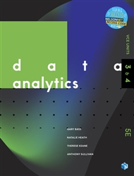 Data Analytics VCE Units 3 & 4 Student book with 1 Access Code for 26 months - 9780170440875