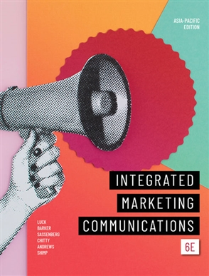 Integrated Marketing Communications - 9780170443005