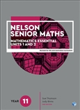 Nelson Senior Maths 11 Mathematics Essential Student Book with 1 x 26 month NelsonNetBook Access Code for the Australian Curriculum