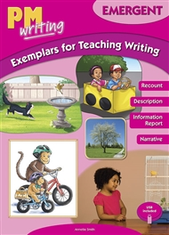 PM Writing Emergent Exemplars for Teaching Writing with USB - 9780170444286