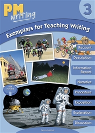 PM Writing 3 Exemplars for Teaching Writing with USB - 9780170444514