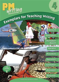 PM Writing 4 Exemplars for Teaching Writing with USB - 9780170444521