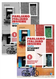 Parliamo italiano insieme Level 1 Student Book and Parliamo italiano insieme Level 1 Workbook with 1 x 26 month NelsonNetBook access code - 9780170445924