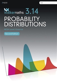 Walker Maths 3.14 Probability Distributions Workbook 2nd Edition - 9780170446938