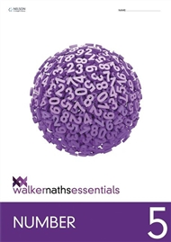 Walker Maths Essentials Number 5 - 9780170447133