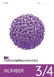 Walker Maths Essentials Number 3/4 Workbook - 9780170447331