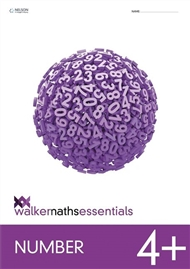 Walker Maths Essentials Number 4+ - 9780170447379