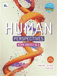 Human Perspectives ATAR Units 1 & 2 Student Book with 1 x 26 month NelsonNetBook access code - 9780170449090