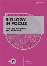 Biology in Focus: Skills and Assessment Workbook Year 11 - 9780170449533