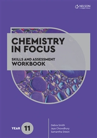 Chemistry in Focus: Skills and Assessment Workbook Year 11 - 9780170449564
