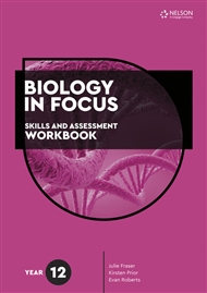 Biology in Focus: Skills and Assessment Workbook Year 12 - 9780170449625