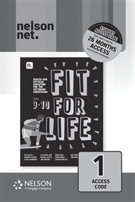 Fit for Life! for the Victorian Curriculum Level 9 & 10 (1 x 26 month NelsonNetBook access code card) - 9780170452366