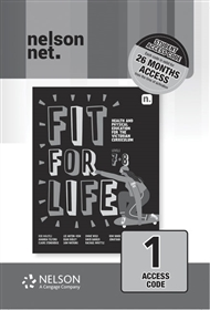 Fit for Life! for the Victorian Curriculum Level 7 & 8 (1 x 26 month NelsonNetBook access code card) - 9780170452441
