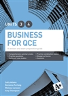 A+ Business for QCE Units 3 & 4 Student Book - A revision and exam preparation guide