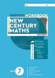 New Century Maths 7 Workbook - 9780170453127