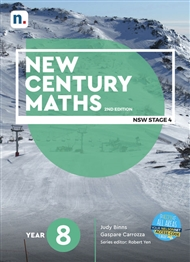 New Century Maths 8 Student Book with 1 x 26 month NelsonNetBook access code - 9780170453141