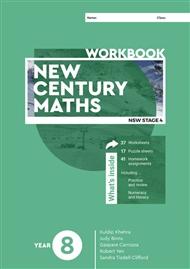 New Century Maths 8 Workbook - 9780170453219