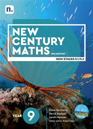 New Century Maths 9 Student Book with 1 x 26 month NelsonNetBook access code - 9780170453233