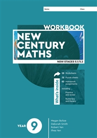 New Century Maths 9 Workbook - 9780170453301