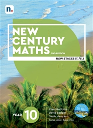 New Century Maths 10 Student Book with 1 x 26 month NelsonNetBook access code - 9780170453417