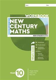 New Century Maths 10 Workbook - 9780170453486