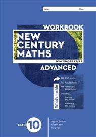 New Century Maths 10 Advanced Workbook - 9780170453578