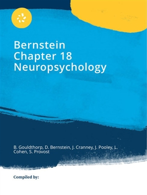 eBook: CP1247 -  Bernstein Chapter 18 Neuropsychology - 9780170454360