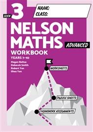 Nelson Maths Workbook 3 Advanced - 9780170454544