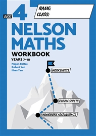 Nelson Maths Workbook 4 - 9780170454551
