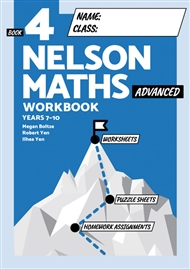 Nelson Maths Workbook 4 Advanced - 9780170454568