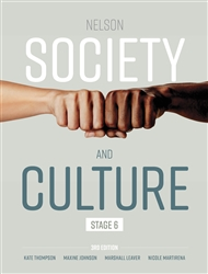 Nelson Society and Culture: Stage 6 - 9780170457323