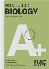 A+ Biology Study Notes VCE Units 3 & 4 - 9780170458290